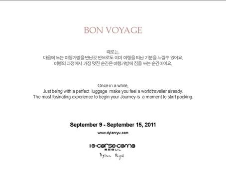 """""""Bon voyage"""" For 10 corso como"""