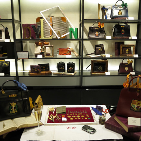 """""""Vintage Hermes exhibition"""" at On Pedder, JOYCE"""