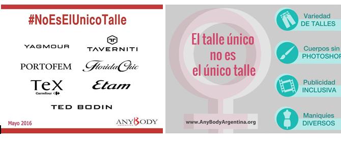 AnyBody Argentina lanza 2da etapa de su campaña #NoEsElUnicoTalle