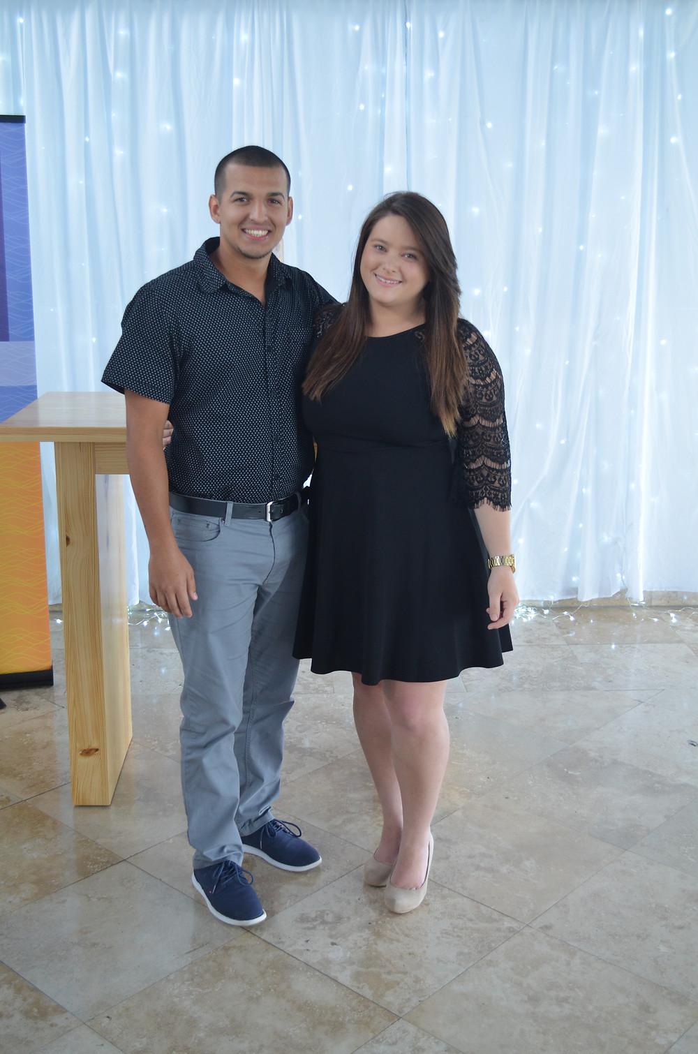 Steven Soto y Gabriela Garcia