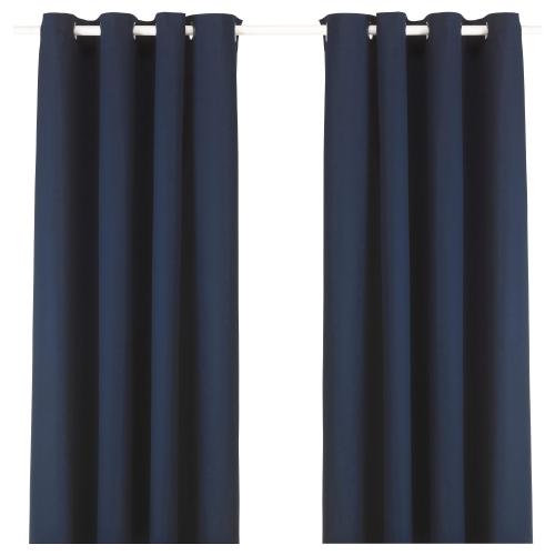 Ikea Cortinas de Algodón,