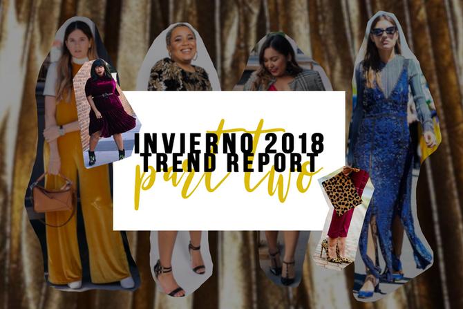 Trend report part 2: invierno 2018