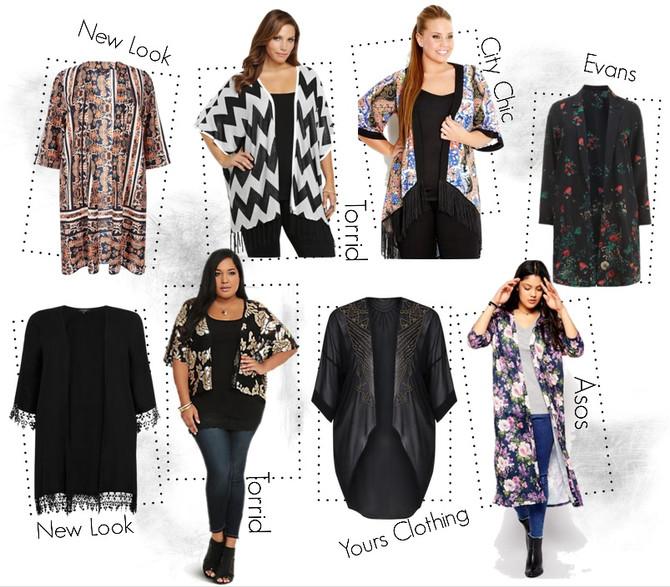 Tendencia Plus de la Semana- Kimonos