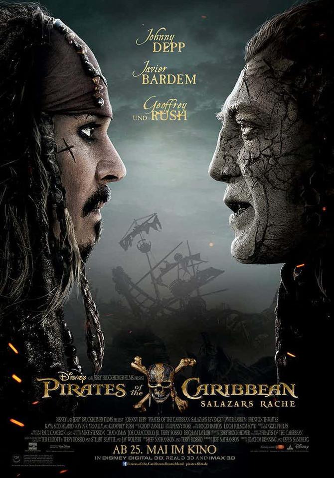 Película: Pirates of the Caribbean - Dead Men Tell No Tales