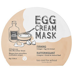 Too cool for school Egg Cream Mask  Firming $6.00