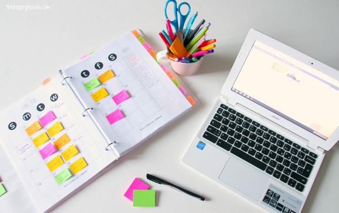 Cómo planificar eficazmente en tu agenda