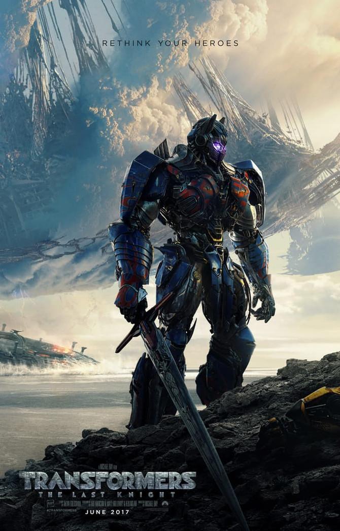 Película: Transformers - The Last Knight