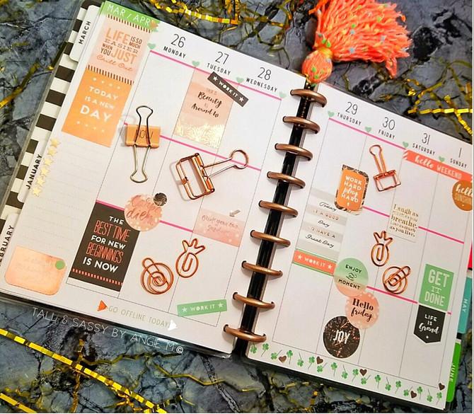 Tu agenda y el glam planning