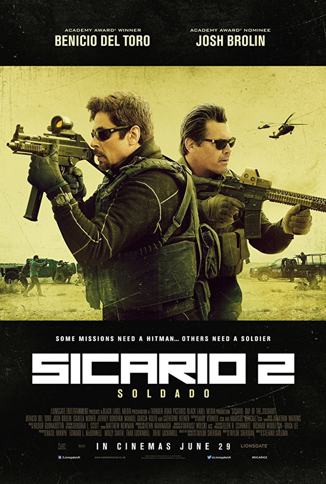 Película: Sicario – Day of the Soldado
