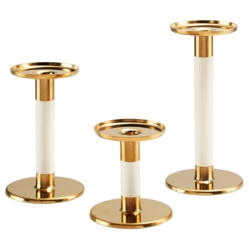 Ikea Set de 3 Candeleros,
