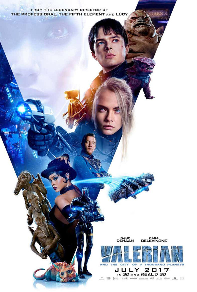 Película: Valerian and the City of a Thousand Planets