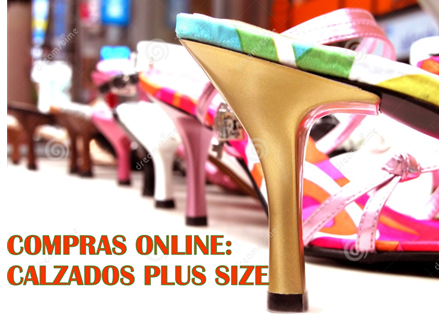Compras Online: Calzado Plus Size