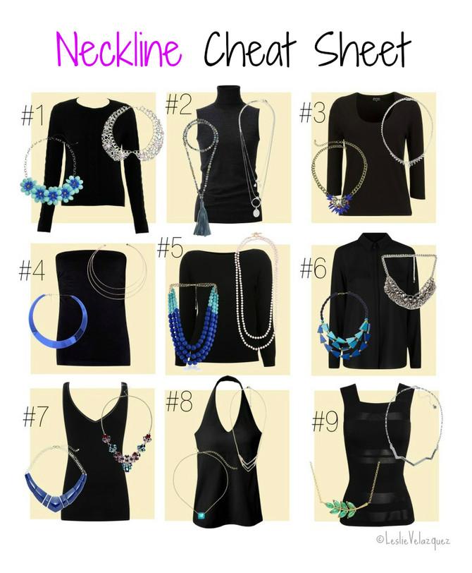 Cómo Emparejar el Collar Perfecto con El Tipo de Escote Adecuado