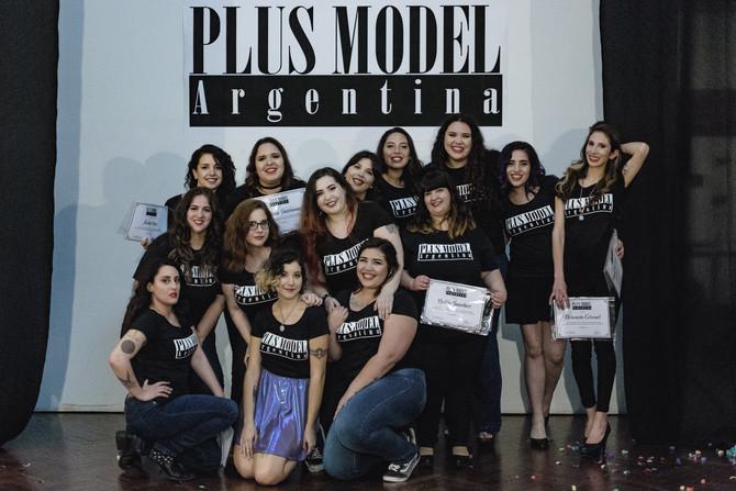 De un sueño a la pasarela: Plus Model Argentina