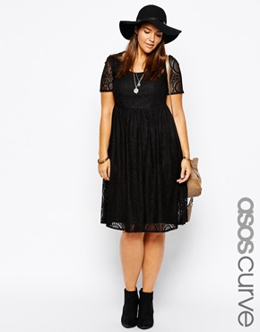 ASOS CURVE Exclusive Midi Dress In Lace With Short Sleeves_$85.28.jpg
