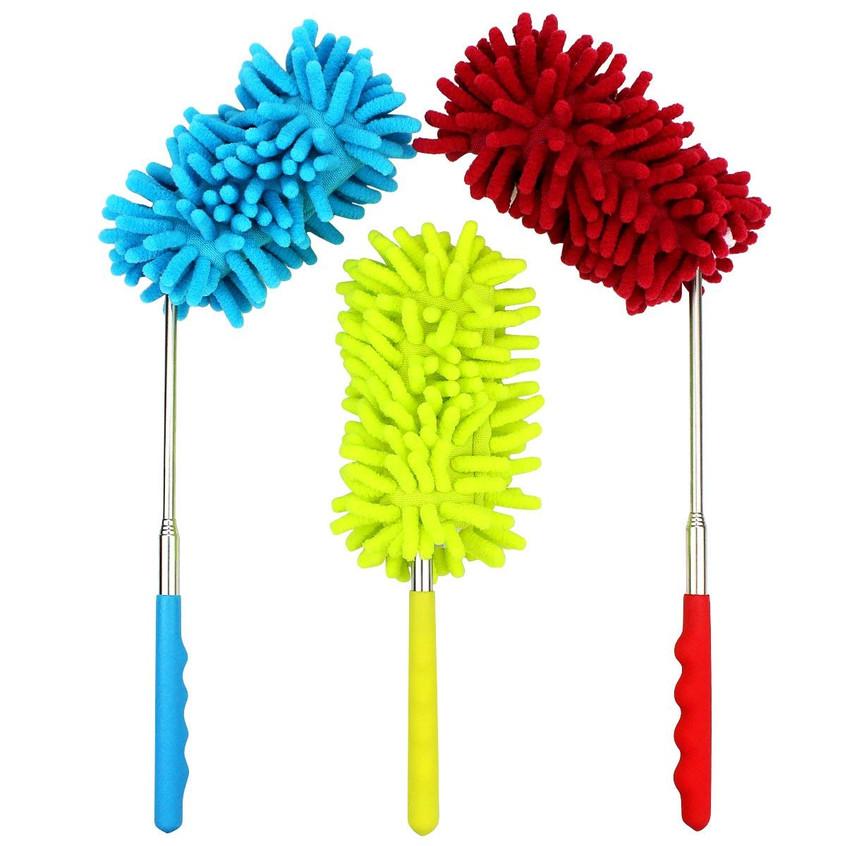 Retractable Washable Dusting Brush,