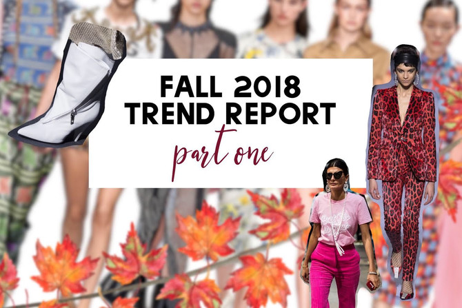 FASHION TRENDS PART 1: Otoño 2018