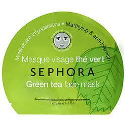 Sephora Green tea mattifies and purifies $6.00