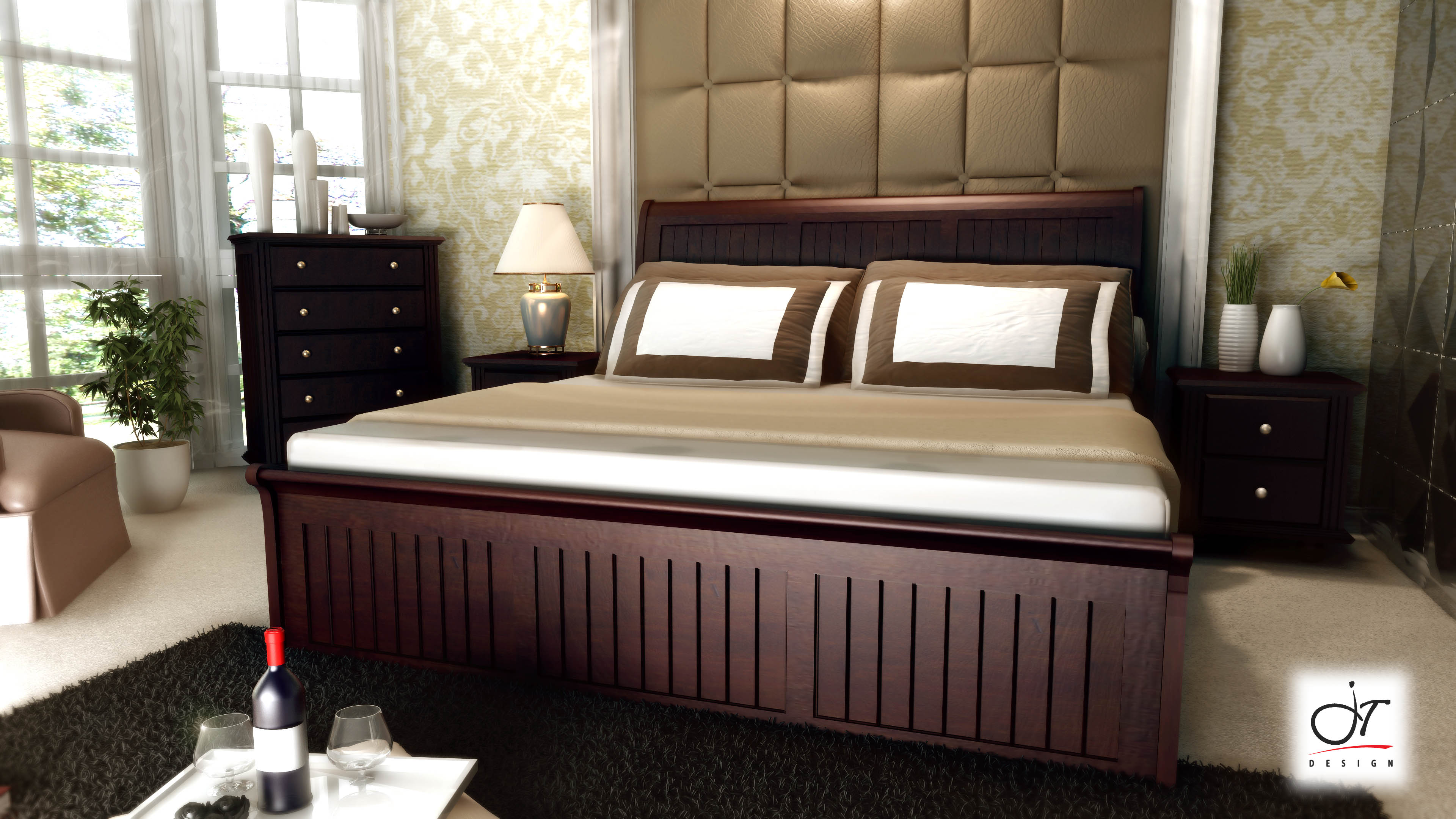 Innovation Mahogany Bed.jpg