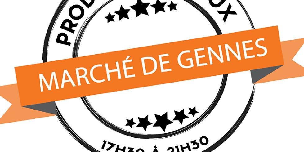 Marché de Gennes