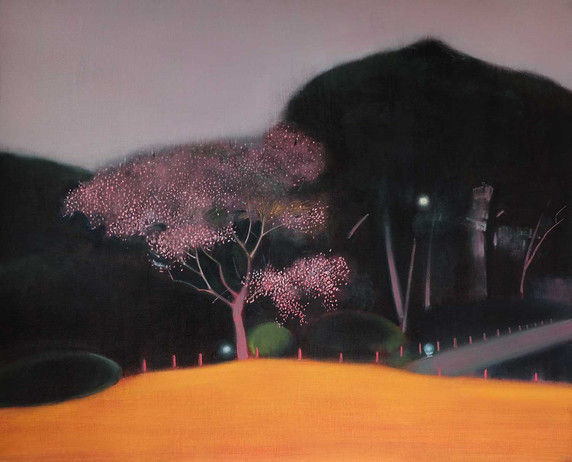 Blossom Tree after the Rain by Thomas Lamb