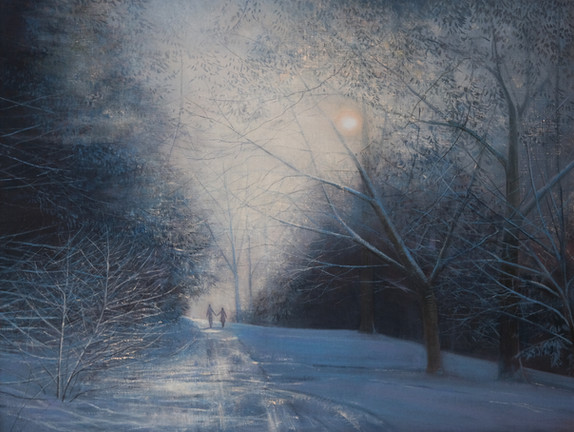 Snow Light by Thomas Lamb