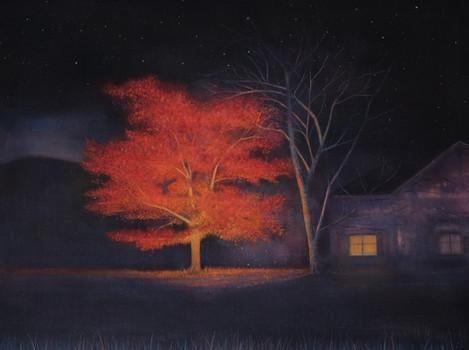 Autumn Night by Thomas Lamb