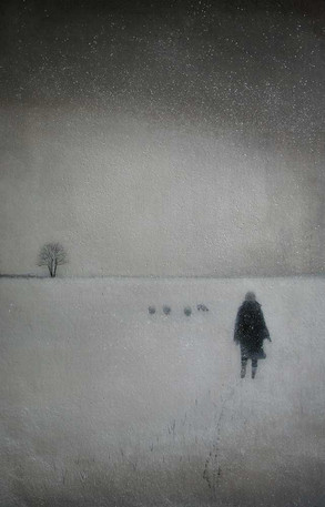 Winters Day by Thomas Lamb