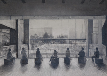 By the Window Tokyo study by Thomas Lamb