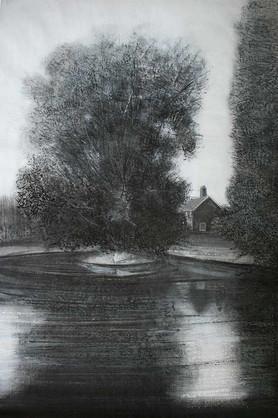 House beside the Lake II by Thomas Lamb