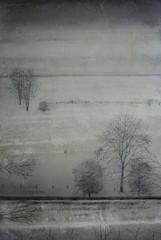 Stream in Winter by Thomas Lamb