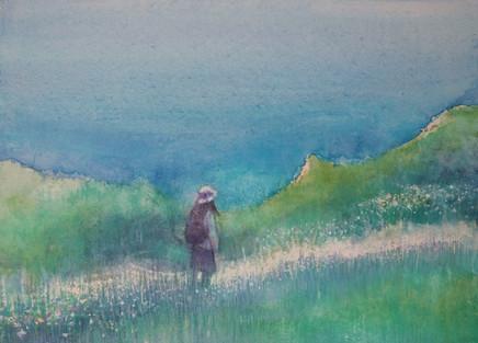 Path beside the Sea by Thomas Lamb