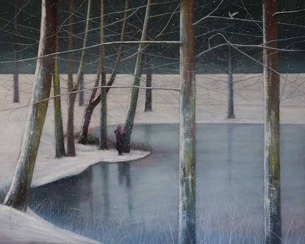 Yuki beside the Lake II by Thomas Lamb