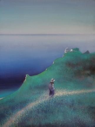 Path beside the Sea II by Thomas Lamb