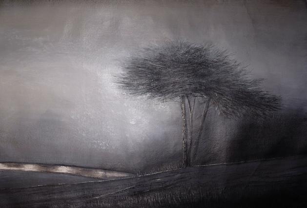 Above the River at Dawn by Thomas Lamb