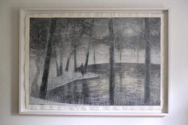 Lake at Dusk by Thomas Lamb