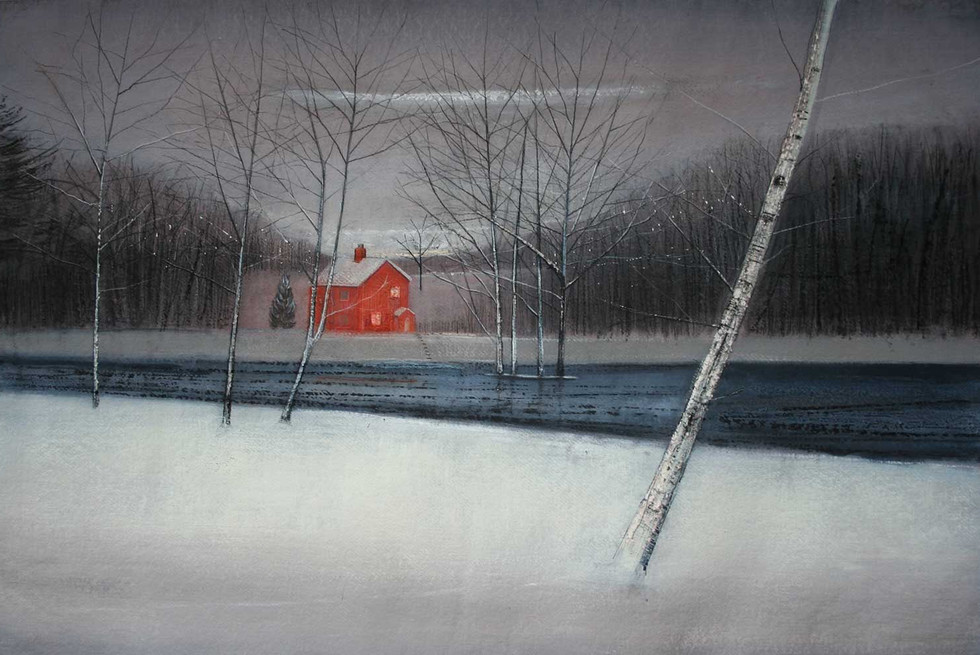 Red House beside the Lake by Thomas Lamb