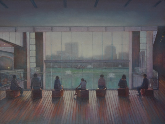 By the Window Tokyo by Thomas Lamb