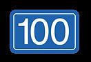 Restaurant Bar 100 Logo
