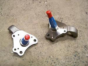 1962-74 Mopar B & E-Body Spindles W/Brake Bracket