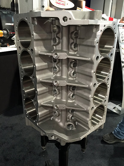 SBC Aluminum Bare Block