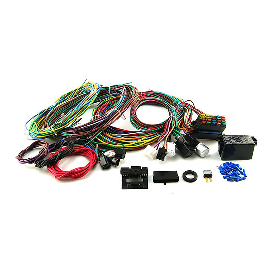 Universal 20 Circuit Wiring Harness