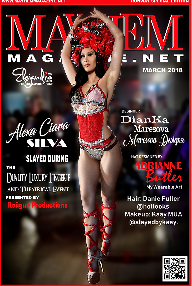 Mayhem Magazine, Alexa Ciara Silva