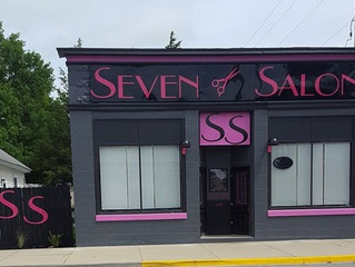 It's all coming together! SEVEN SALON, Palo