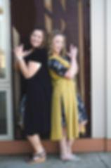 Amber Dunlap & Tiffany Lipp Palo Cedar Rapids LuLaRoe tan