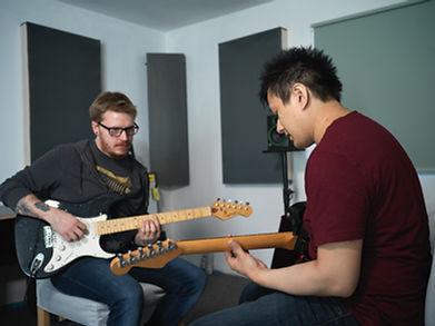 Daniel heng Guitar Lessons Electric Guitar West London