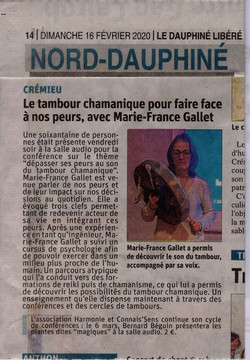 Marie-France Gallet article