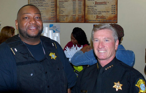 Sheriff Lott dined with US!