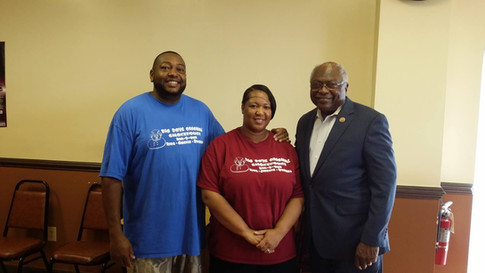 Thank you Congressman Clyburn for the visit!