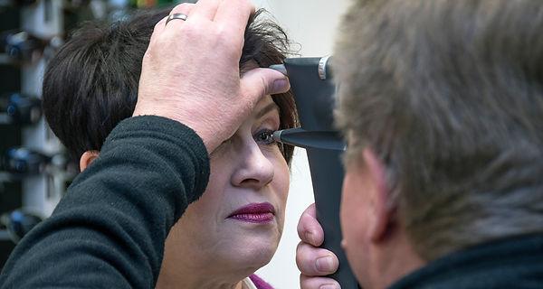 Silmänpaineenmittau Lintukorvella